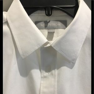 Nordstrom white dress shirt boys 16